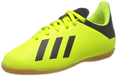 adidas X Tango 18.4 in J, Zapatillas de fútbol Sala Unisex niño, Multicolor (Amasol/Negbás/Amasol 000), 37 1/3 EU