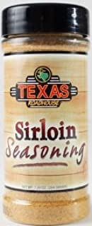 Texas Roadhouse Restaurant Seasoning 6.88 - 7.2oz Container (Pack of 3) Choose Flavor Below (Sirloin Seasoning 7.2oz)
