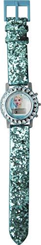 Kids Licensing |Reloj Digital Niños | Reloj Frozen II |Diseño Efecto Glitter |Reloj Infantil con Luz | Reloj de Pulsera Infantil Ajustable| Bisel Decorado | Reloj de Aprendizaje | Licencia Oficial