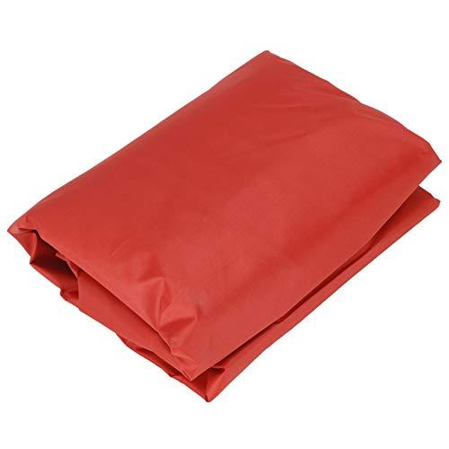 frenma Cubierta Protectora de Piscina, Cubierta de Piscina Liviana, Cubierta de Caja de Arena Diseño con cordón Resistente(Red, 200 * 200 * 20cm)