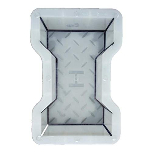 homozy Blind Road Paving Brick Mold, Concrete Stepping Stone Paver Mold, Lawn Garden and Patio Reusable DIY Pathway Maker