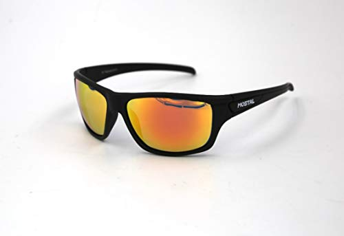 Mostal Sunglasses Polarized Orange Polbrille Polarisationsbrille Sonnenbrille Brille