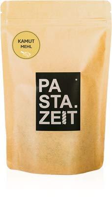 PASTAZEIT BIO PREMIUM KAMUTVOLLKORNMEHL© khorasan Weizen Mehl Proteinreiches Weizen 2500g (5x500g)