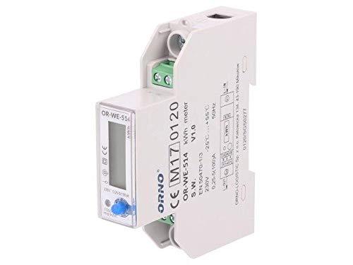 OR-WE-514 Controller IP51 RS485 MODBUS RTU DIN Ioper.max100A ORNO