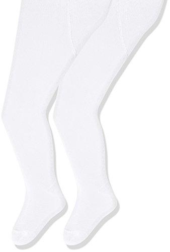 Sterntaler Doppelpack Strumpfhose für Babys, Alter: 4-5 Monate, Größe: 68, Weiß