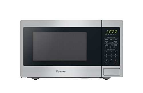 Kenmore Stainless Steel 70913 Countertop Microwave, 0.9 cu. ft