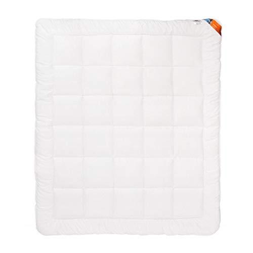 amz Manta de invierno antiestrés, extracálida, 100% cómoda para dormir, antialérgica, microfibra (135 x 200 cm)