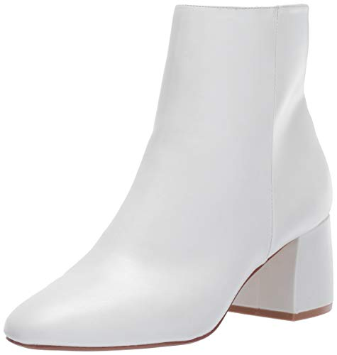 Chinese Laundry Women's DAVINNA Ankle Boot, Bone Smooth, 7.5 M US