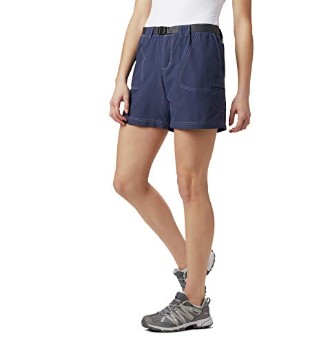 Columbia Women's Sandy River Breathable Cargo Short with UPF 30 Sun Protection, Nocturnal, Large