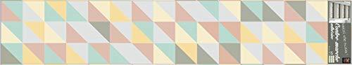Plage 197000Stairs Scale stika. co rskan Dina Visch, in Vinile, Multicolore, 100x 0,1x 19cm
