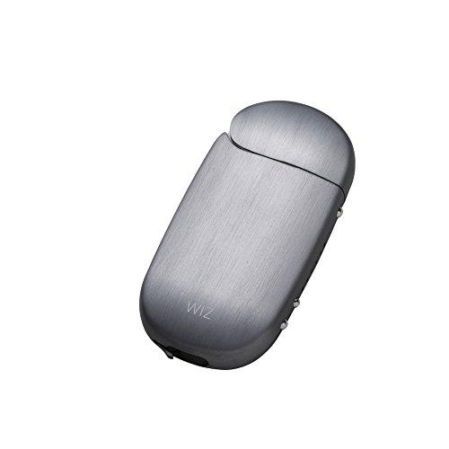 iQOS アイコス 用 アルミ ケース 2.4 Plus / 2.4 両対応 ストラップホルダー付き 工具不要 ネオジウム磁石で簡単装着 WIZ (グラファイト)