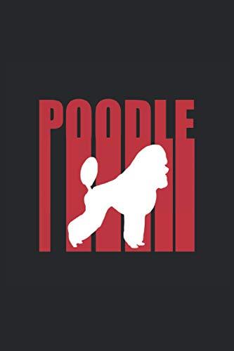Pudel Hund Tierfreund Geschenkidee: Notizbuch für Hunde