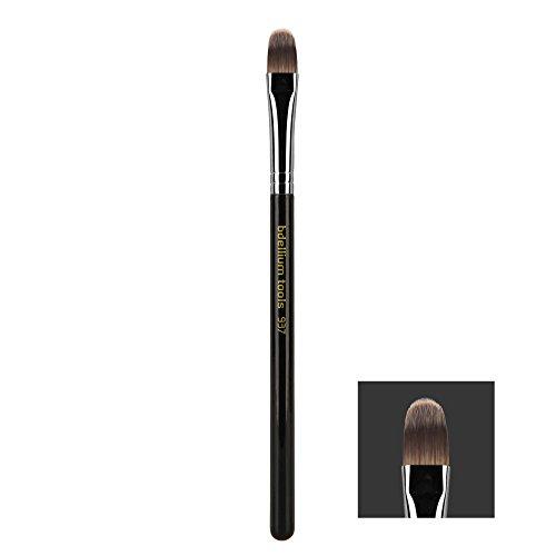Bdellium Tools - Pennello viso, serie Maestro, per correttore, inclinato, professionale e antibatterico