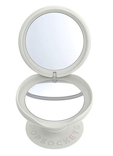 PopSockets PopGrip Mirror - Expanding Stand and Grip with a Swappable Top for Smartphones and Tablets - Midsummer Gloss