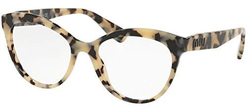Miu Miu Damen 0MU 04RV Sonnenbrille, Blonde Havana, 53