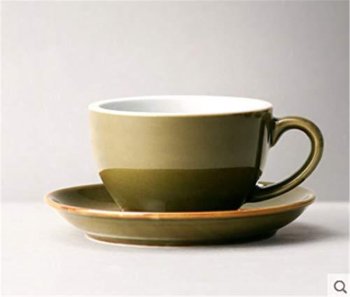 Japanse Stijl Koffiebeker Dikke Handgemaakte Koffiebeker Saus Snoep Salade Bloem Koffiebeker 300ml / voor Valentijnsdag Cadeau, Kerstmis Thanksgiving Gift A