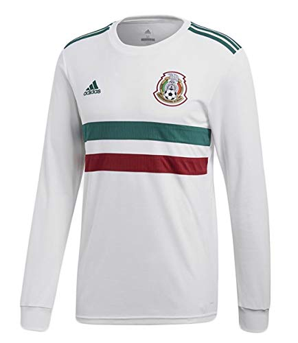 adidas Mexico Men's Away L/S Jersey World Cup 2018 (L)