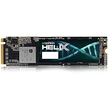 Mushkin Helix-L – 1TB PCIe NVMe 1.3 – M.2 (2280) Internal Solid State Drive (SSD) – Gen3 x4 – 3D TLC - (MKNSSDHL1TB-D8)