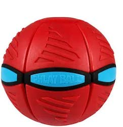 Goliath Games Phlat Ball V3 (Red and Blue)