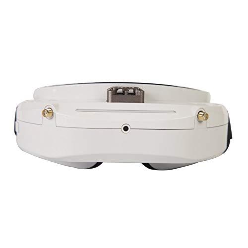 Amyove Skyzone SKY03O Oled 5,8 GHz 48CH Vielfalt FPV Brille Unterstützung OSD DVR HDMI mit Head Tracker Fan LED für RC Racing Drone Weiß