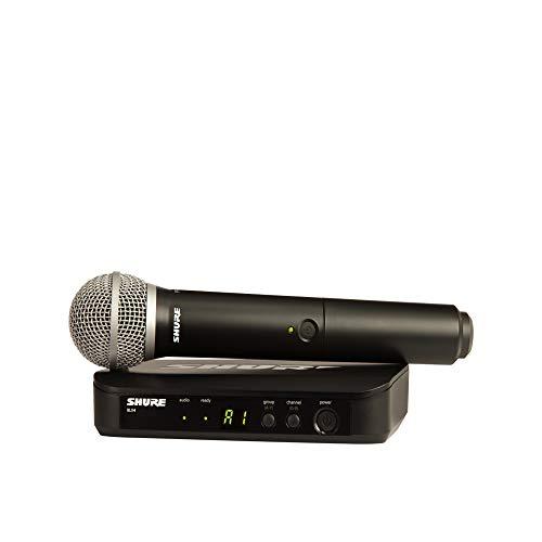 Shure BLX24/PG58 Microfone Sem Fio, Loja Oficial, 2 Anos de Garantia