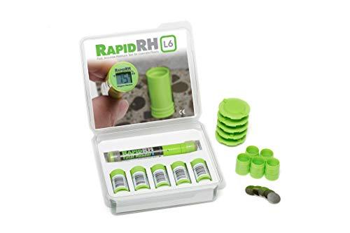 Wagner Meters Rapid RH (Smart Sensor w-Fahrenheit Total Reader, 5 Pack)