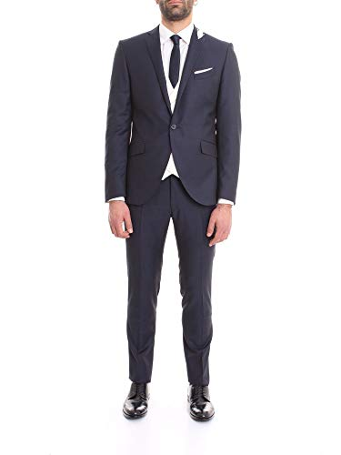 Corneliani Luxury Fashion Herren 857Z550167158005 Blau Baumwolle Anzuge | Frühling Sommer 20