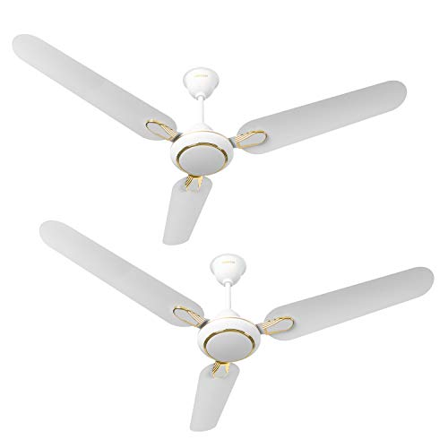 Luminous Dhoom 1200mm 70-Watt High Speed Ceiling Fan (White,...