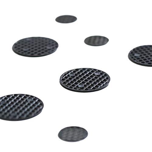 Faliya 20 Stück Blumentopf Loch Mesh Pad Bonsai Topf Boden Gitter Matte atmungsaktive Dichtung, um Fäulnis Wurzeln Bodenverlust zu verhindern