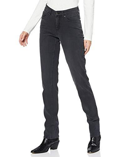 MAC Jeans Damen Melanie Jeans, D951 Authentic Black wash, 42/30
