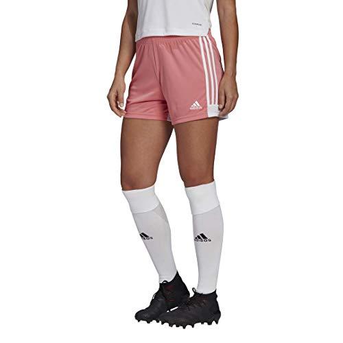 adidas Women's Tastigo 19 Short Hazy Rose/White,XX-Large