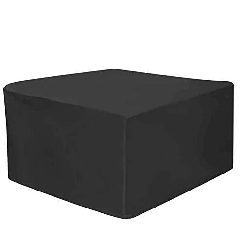WZDD Funda para Muebles De Exterior 231x231x90cm, Cubierta para Muebles De Jardín, Resistente Al Desgarr Resistente Al Polvo Anti-UV Fundas para Mesa Jardin