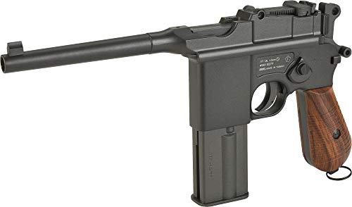 Evike KWC M712 Broomhandle Full-Auto CO2 Gas .177 Full Metal (NOT Airsoft) Air Gun Pistol