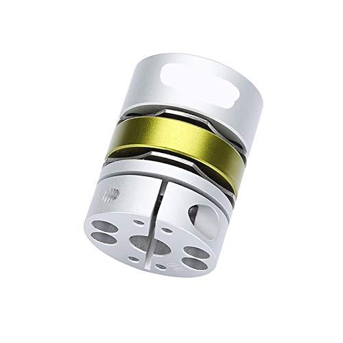 Basic Cellphone Cases Piezas CNC Acoplamiento de aleación de Aluminio Doble diafragma de diafragma Serie para servomotor Acoplamiento de Eje stemotor (Inner Diameter : GLB 32x41 (5 14))
