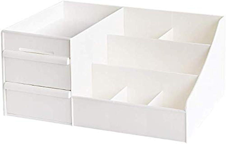 不正しなやかな円形の化粧品収納ボックス コスメボックス 小物入れ 卓上収納 安定 シンプル 櫛置き場 コスメ