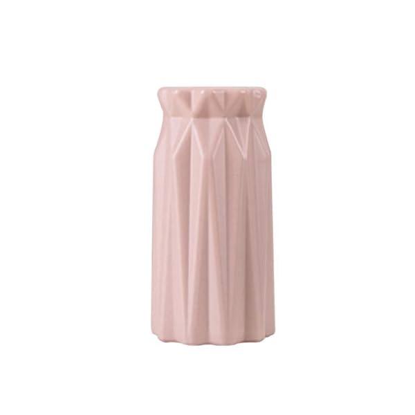 Vase-Pot-de-Fleurs-Vase-Design-Vase–Fleurs-Vase-en-Plastique-Belle-Incassable-PP-Anti-Chute-Vase-en-Cramique-Imitation-Vase-de-Forme-Gomtrique-Centre-de-Table-Mariage9-9-177Cm