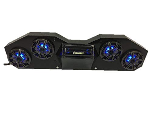 "SD CABBT4B -CanAm Maverick & Commander Stereo System Bluetooth UTV Side by Side (4-6.5"" Marine Speakers)"