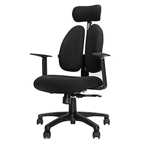 Silla ergonómica de oficina Silla de computadora, silla ergonómica de oficina, silla de retención de silla de juego, hogar cómodo silla de oficina sedentaria reclinable Silla del ordenador del escrito