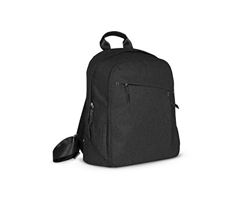 UPPAbaby Changing Backpack - Jake (Black/Black Leather)