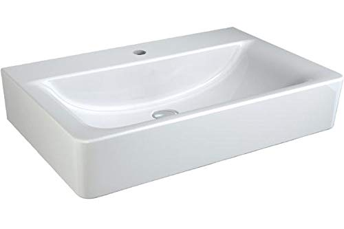 Ideal Standard Connect Cube Waschtisch 700mm E8109, ohne Überlauf, Farbe: Weiß mit Ideal Plus