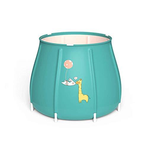 GLYYR Faltende Badewanne Bad-Fass Faltbares Bad-Fass, Whirlpool-Badewanne für Erwachsene und Kinder, freie aufblasbare Faltbadewanne, genießen Sie ein komfortables Whirlpool, freistehende Badewanne Ba