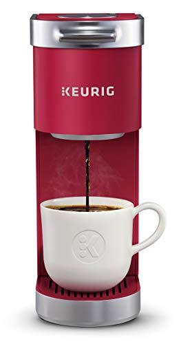 Keurig K-Mini Plus Coffee Maker, Certified Refurbished, Cardinal Red (Renewed)