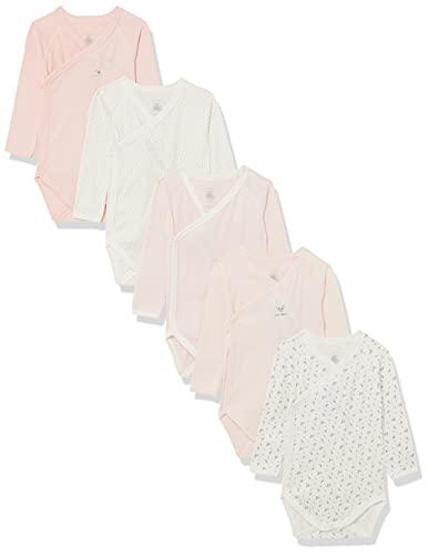 Petit Bateau A0274 Camiseta, Variante 1, 0 Mes para Bebés