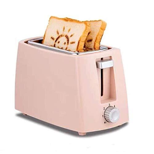 Tostadora de sándwich Multifuncional Completamente automática, Mini máquina de Desayuno Familiar, tostadora automática compacta de Acero Inoxidable tostadora eléctrica para el hogar