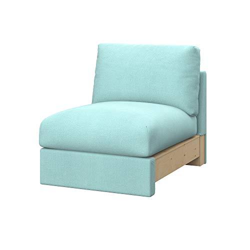 Soferia Fodera Extra Ikea VIMLE Divano a 1 posti, Tessuto Elegance Ecru