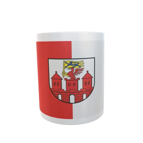 U24 Tasse Kaffeebecher Mug Cup Flagge Tribsees