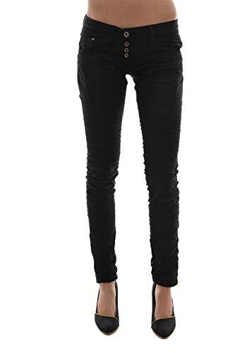 Please p68c Damen-Jeans schwarz Gr. Large, Schwarz