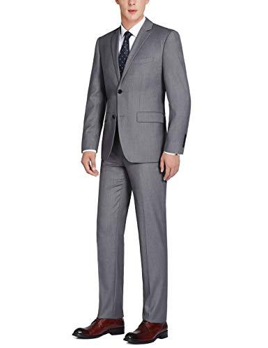 Chama Dark Grey Classic Fit Suit