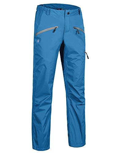 Little Donkey Andy Women's Waterproof Mountain Pants, Rain Pants Seaport Size M
