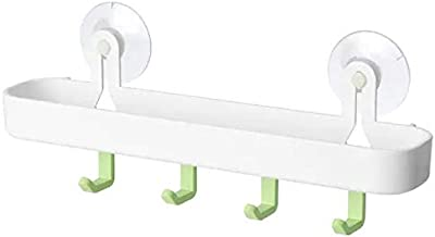 Ikea GLÖMSTA Tray with 4 Hooks and Suction Cup